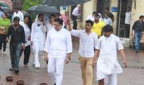 Govinda, Karan Singh Grover, Bharti Singh attend funeral of Krushna Abhishek's father (See Pictures)
