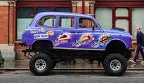 Cadbury launch Monster Truck Taxi