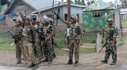 4 jawans injured in terror attack on CRPF camp in J-K