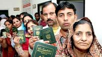 114 Pakistanis to become Indians starting today