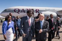 Qatar Airways' first Namibia flight touches down in Windhoek