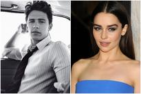 'Fifty Shades of Grey' Movie Casting: James Franco as Christian Grey & Emilia Clarke as Anastasia Steele [PHOTOS]