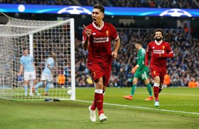 Salah, Firmino seal Liverpool's place in Champions League semis