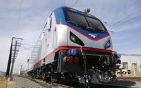 Amtrak trains roll off assembly line