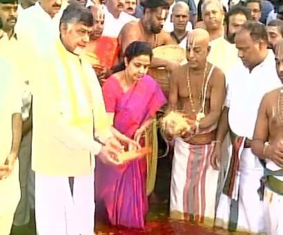 12-day Krishna Pushkaram river festival commences in Andhra Pradesh