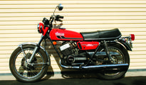 Yamaha RD350- A young man's dream in the 80's