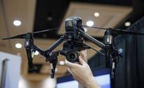 Drone racing underway