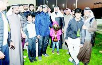 Nasrawi wins late Sheikh Abdullah Al-Mubarak Cup  Muhaiman claims 2,600 meter race
