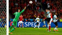 Belgium fail to learn from mistakes as Wales stun Marc Wilmots' men
