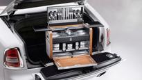 Rolls-Royce creates the ultimate picnic hamper
