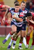Melbourne Rebels star Sean McMahon makes sure of last round win over Queensland Reds