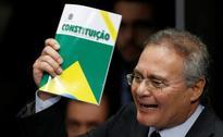 Brazil Senate boss Calheiros indicted for embezzlement