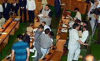 Jammu & Kashmir Assembly: Abdul Rashid Marshalled Out, NC Stages Walkout