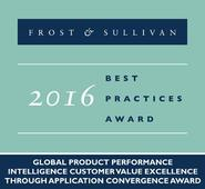 2016 Global Frost & Sullivan Award for Customer Value Excellence presented to Siemens PLM Software for its Path-breaking Omneo Product Performance Intelligence Solution