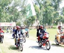 Public spaces: Women on wheels take on Sargodha
