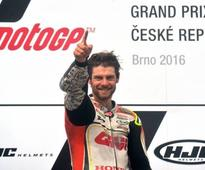 Czech MotoGP: Crutchlow becomes first British rider to win in 35 years
