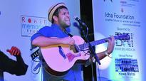 Celebrity guitarist Dhruv mesmerises Vizagites