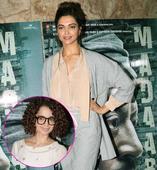 Look how Deepika Padukone AVOIDED Kangana Ranaut at Madaari screening!
