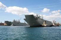 Australian Navy Commissions HMAS Adelaide