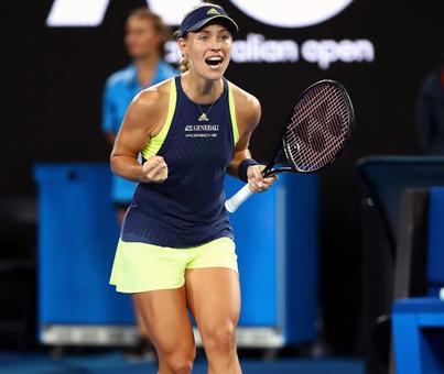 Aus Open: Kerber thrashes Sharapova to reach fourth round