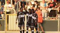 Ghanaian starlet Eric Ocansey inspires Eupen to victory in Belgian top-flight league with sweet volley