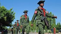 Myanmar conducts first joint military manoeuver