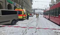 Train station area in Swiss city closed after bomb threat