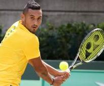 Nick Kyrgios throws water bottle in the stands to help ill fan (VIDEO INSIDE)