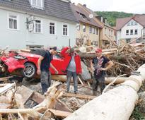 Severe flooding and rains claim four lives in southern Germany