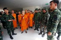 Thai police say temple search ends without finding wanted monk