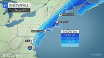 Tri-state area to be hit by up to eight inches of slushy snow overnight