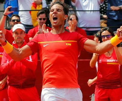 Spain enter Davis Cup semis after epic Ferrer win