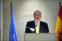 King Juan Carlos represents Spain at Castro Memorial Service