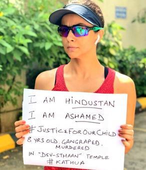 'I'm Hindustan, I'm ashamed': Celebs demand justice in Kathua rape case