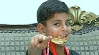 Six-year-old Kashmiri boy clinches gold in Asian Karate Championship