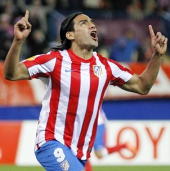 Falcao keeps 10-man Atletico perfect at home