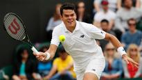 Canada's Raonic moves into third round at Wimbledon