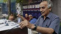 Shourie attacks Modi govt, dubs demonetisation #39;largest money-laundering scheme ever#39