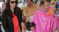 Aishwarya Rai Bachchan's mother falls during bodyguards scuffle with media