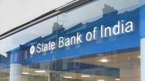 Bankers protest State Bank of India hiring riders