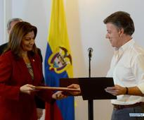 Colombian, Costa Rican presidents attend signing ceremony of FTA