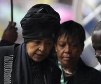 Winnie Mandela recuperating at home after back surgery