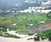 IAF choppers rescue 23 from flood-hit village in Medak