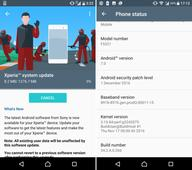 Android 7.0 Nougat update starts rolling out for Sony Xperia X and Xperia X Compact