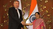 Sushma meets Russian Deputy PM