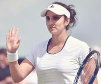 Sania Mirza- Yaroslava Shvedova Crash Out of Nurnberg WTA event