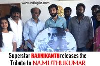 Superstar Rajinikanth releases the Tribute to Na.Muthukumar