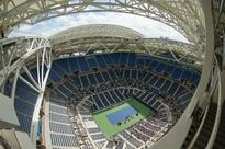 Arthur Ashe Stadium's new PTFE retractable roof can open or close in just six minutes
