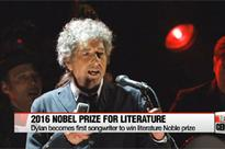Nobel Prize for Literature awarded to Bob Dylan