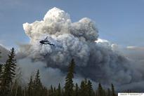 Alberta fire likely man-made